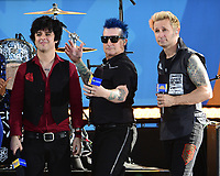 NEW YORK, NY - May 17: Green Day performs on ABC's 'Good Morning America' at Rumsey Field in Central Park on May 19, 2017 in New York City. @John Palmer / Media Punch