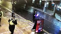 2019 06 15 Stolen Car, Wind Street, Swansea, Wales, UK