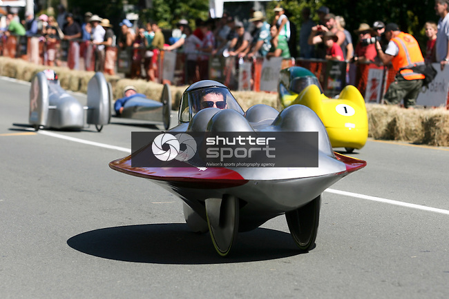 Robertson's Collingwood Street Trolley Derby, 17 March 2012,  Nelson, New Zealand<br /> Photo: Marc Palmano/shuttersport.co.nz