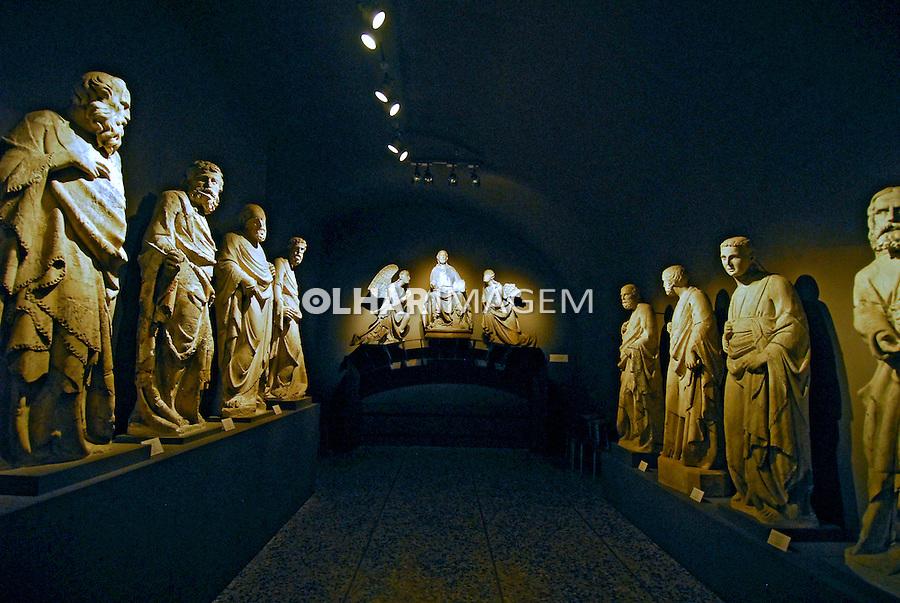 Museo dell'Opera del Duomo. Siena. Toscana. 2006. Foto de Luciana Whitaker.