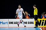 Iran vs Uzbekistan during the AFC Futsal Championship Chinese Taipei 2018 Semi Finals match at Xinzhuang Gymnasium on 09 February 2018, in Taipei, Taiwan. Photo by Yu Chun Christopher Wong / Power Sport Images