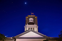 TALLAHASSEE, FLA. 4/11/16-The Historic Florida Capitol at dusk. <br />