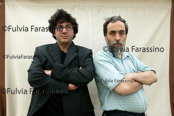 Venezia, Venice, 2003, Mostra Internazionale d'Arte Cinematografica, Daniele Ciprì e Franco Maresco