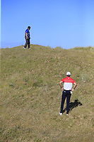 Ruaidhri McGee (IRL) in the rough for his 2nd shot on the 3rd hole during Friday's Round 2 of the 2018 Dubai Duty Free Irish Open, held at Ballyliffin Golf Club, Ireland. 6th July 2018.<br /> Picture: Eoin Clarke | Golffile<br /> <br /> <br /> All photos usage must carry mandatory copyright credit (&copy; Golffile | Eoin Clarke)