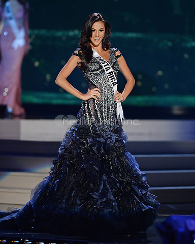 MIAMI, FL - JANUARY 21: Miss Costa Rica Karina Ramos competes in the The 63rd Annual Miss Universe Preliminary Competition and National Costume Show, held at U.S. Century Bank Arena, Florida International University on January 21, 2015 in Miami, Florida.  Credit: mpi04/MediaPunch ***NO NY DAILIES OR NEWSPAPERS***