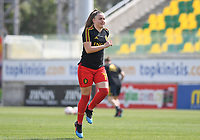 20190227 - LARNACA , CYPRUS :  Belgian Davinia Vanmechelen pictured during a women's soccer game between the Belgian Red Flames and Slovakia , on Wednesday 27 February 2019 at the AEK Arena in Larnaca , Cyprus . This is the first game in group C for Belgium during the Cyprus Womens Cup 2019 , a prestigious women soccer tournament as a preparation on the Uefa Women's Euro 2021 qualification duels. PHOTO SPORTPIX.BE | DAVID CATRY