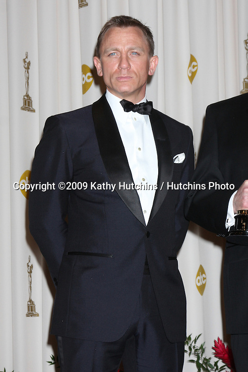 Daniel Craig  in the 81st Academy Awards Press Room at the Kodak Theater in Los Angeles, CA  on.February 22, 2009.©2009 Kathy Hutchins / Hutchins Photo...                .