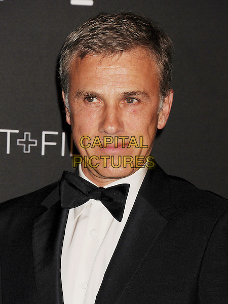 LOS ANGELES, CA - NOVEMBER 01: Actor Christoph Waltz attends the 2014 LACMA Art + Film Gala honoring Barbara Kruger and Quentin Tarantino presented by Gucci at LACMA on November 1, 2014 in Los Angeles, California.<br /> CAP/ROT/TM<br /> &copy;Tony Michaels/Roth Stock/Capital Pictures