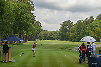 Ceilia Barquin Arozamena (a)(ESP) watches her tee shot on 10 during round 2 of the U.S. Women's Open Championship, Shoal Creek Country Club, at Birmingham, Alabama, USA. 6/1/2018.<br /> Picture: Golffile | Ken Murray<br /> <br /> All photo usage must carry mandatory copyright credit (© Golffile | Ken Murray)