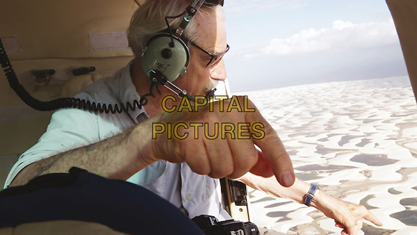 Human (2015) <br /> Yann Arthus-Bertrand provides guidance while filming in Brazil, over the Len&ccedil;&oacute;is Maranhenses National Park .<br /> *Filmstill - Editorial Use Only*<br /> CAP/KFS<br /> Image supplied by Capital Pictures