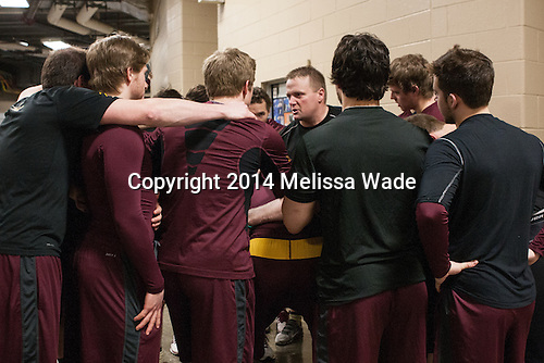 Cal Dietz (MN - Strength/Cond Coach) - The Union College Dutchmen defeated the University of Minnesota Golden Gophers 7-4 to win the 2014 NCAA D1 men's national championship on Saturday, April 12, 2014, at the Wells Fargo Center in Philadelphia, Pennsylvania.