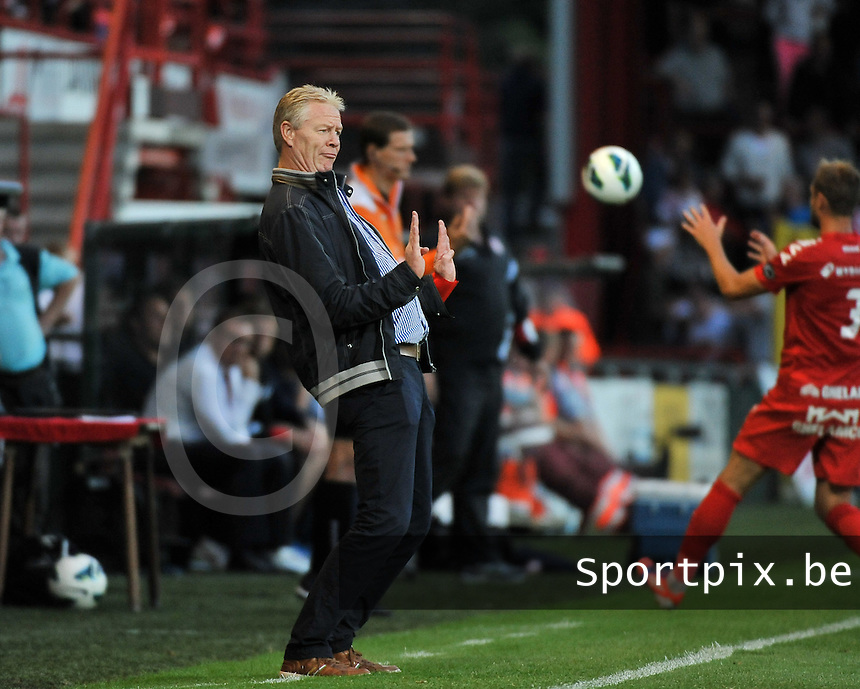KV Kortrijk - Sporting Lokeren : Peter Maes<br /> foto VDB / Bart Vandenbroucke