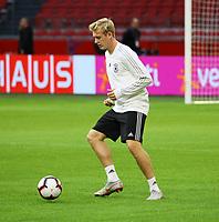 Julian Brandt (Deutschland Germany) - 12.10.2018: Abschlusstraining der Deutschen Nationalmannschaft vor dem UEFA Nations League Spiel gegen die Niederlande