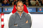 Nederland, Amsterdam, 24 oktober  2012.Champions League.Seizoen 2012-2013.Ajax-Manchester City 3-1.Frank de Boer, trainer-coach van Ajax