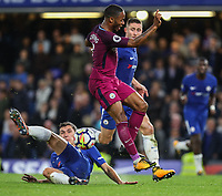 Andreas Christensen of Chelsea stops the run of Raheem Sterling of Manchester City <br /> Calcio Chelsea - Manchester City Premier League <br /> Foto Phcimages/Panoramic/insidefoto