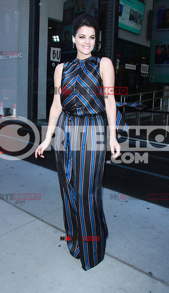 NEW YORK, NY - OCTOBER 27: Jamie Alexander at AOL's Build Series promoting the new season of Blindspot in New York City on October 27, 2017. Credit: RW/MediaPunch /NortePhoto.com