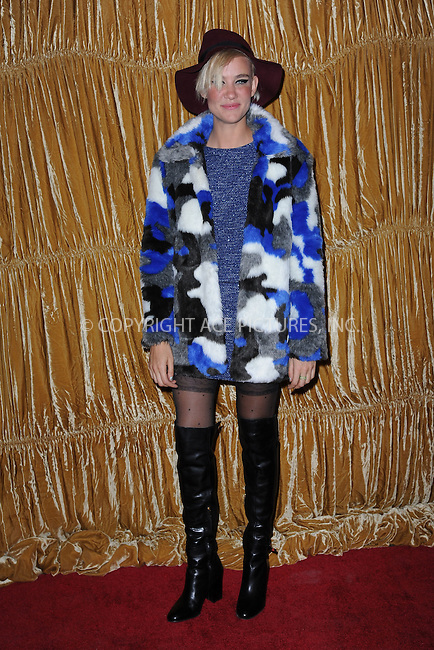 WWW.ACEPIXS.COM<br /> February 16, 2015 New York City<br /> <br /> Miriam Nervo at the alice + olivia by Stacey Bendet fashion presentation on February 16, 2015 in New York City. <br /> <br /> By Line: Kristin Callahan/ACE Pictures<br /> ACE Pictures, Inc.<br /> tel: 646 769 0430<br /> Email: info@acepixs.com<br /> www.acepixs.com