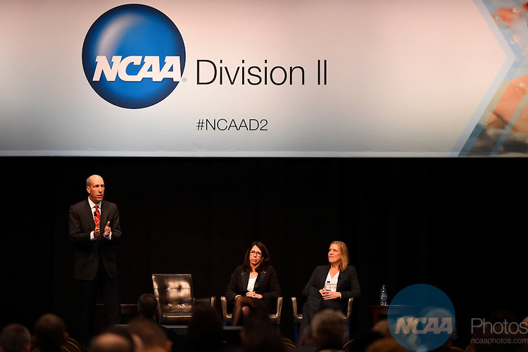 15 JAN 2015:  The NCAA Division II Issues Forum and Keynote Speaker take place during the 2015 NCAA Convention held at the Gaylord National Resort and Convention Center in National Harbor, MD.  Jamie Schwaberow/NCAA Photos  (Pictured:  David A Williams, Make-A-Wish)