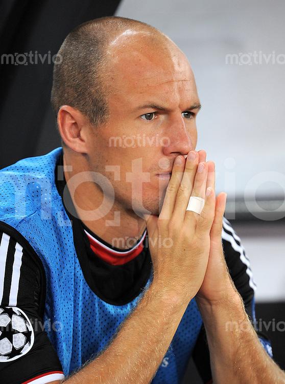 FUSSBALL   CHAMPIONS LEAGUE   SAISON 2011/2012  Qualifikation  23.08.2011 FC Zuerich - FC Bayern Muenchen Arjen Robben (FC Bayern Muenchen)