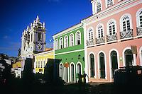 Praça do Pelourinho, Salvador de Bahia, Brazil, october 2012.