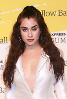 BROOKLYN, NY - SEPTEMBER 10: Lauren Jauregui at The Yellow Ball at The Brooklyn Museum in New York City on September 10, 2018. Credit: Diego Corredor/MediaPunch<br /> CAP/MPI99<br /> &copy;MPI99/Capital Pictures