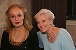 "Julie Newmar (batman the series) and Lee Meriwether ""Ruth Martin"" AMC and batman the movie at theSuper Megashow & Comic Fest on August 30, 2009 in Secaucus, New Jersey (Photo by Sue Coflin/Max Photos)"