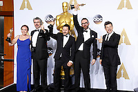 LOS ANGELES - FEB 28:  Mark Williams Ardington, Paul Norris, Sara Bennett, Andrew Whitehurst, Andy Serkis at the 88th Annual Academy Awards - Press Room at the Dolby Theater on February 28, 2016 in Los Angeles, CA