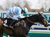 14h April 2018, Aintree Racecourse, Liverpool, England; The 2018 Grand National horse racing festival sponsored by Randox Health, day 3; Jockey Noel Fehily on-board Black Op wins The Betway Mersey Novices' Hurdle