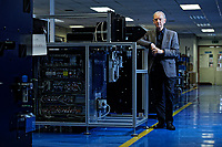 Pictured: Dr Peter Dickinson of Spectrum Technologies in Bridgend, Wales, UK. Wednesday 19 February 2020<br /> Re: The effect of the Ford factory closure will have to Bridgend in south Wales, UK.