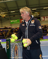 22-12-13,Netherlands, Rotterdam,  Topsportcentrum, Tennis Masters, Umpire<br /> Photo: Henk Koster