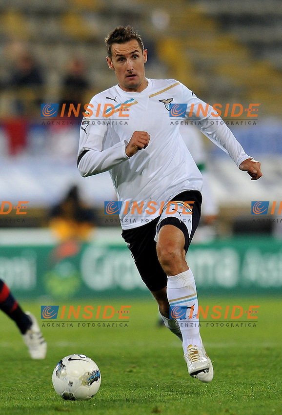 """Miroslav KLOSE (Lazio).Bologna 23/10/2011 Stadio """"Dallara"""".Serie A 2011/2012.Football Calcio Bologna Vs Lazio.Foto Insidefoto Alessandro Sabattini."""