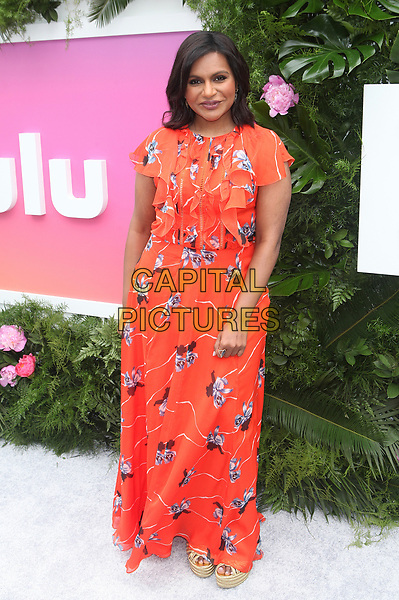 NEW YORK, NY - MAY 3: Mindy Kaling at Hulu&rsquo;s 2017 Upfront Presentation at La Sirena on May 3, 2017 in New York City. <br /> CAP/MPI/DIE<br /> &copy;DIE/MPI/Capital Pictures