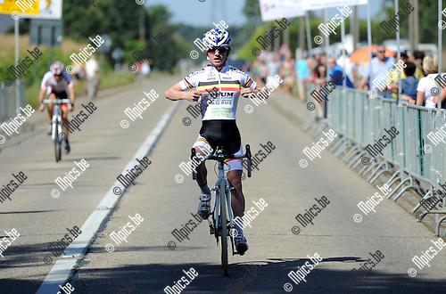 2012-09-09 / Veldrijden / seizoen 2012-2013 / Nieuwelingen Wiekevorst / Eli Iserbyt was de beste..Foto: Mpics.be