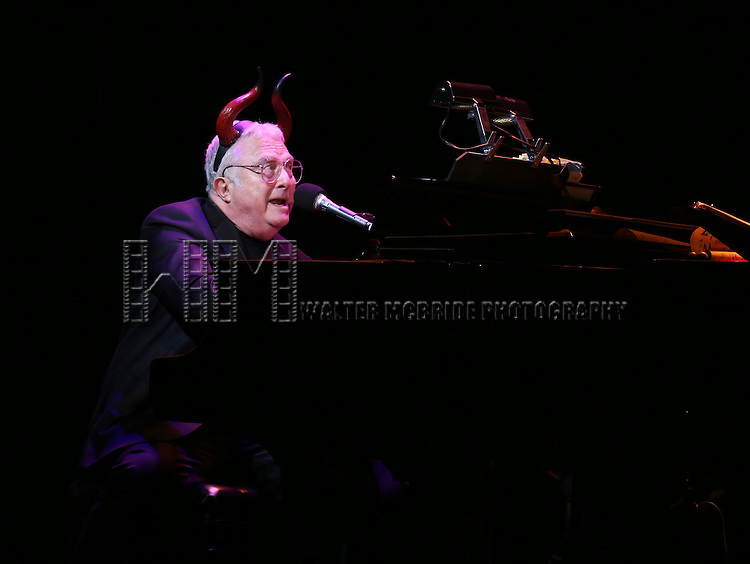 Randy Newman during the Curtain Call for the New York City Center Encores! Off-Center production of 'Randy Newman's FAUST' - The Concert at City Center on July 1, 2014 in New York City.