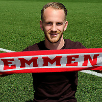 EMMEN - Voetbal Presentatie Jason Bourdouxhe , FC Emmen, seizoen 2018-2019, 07-06-2018