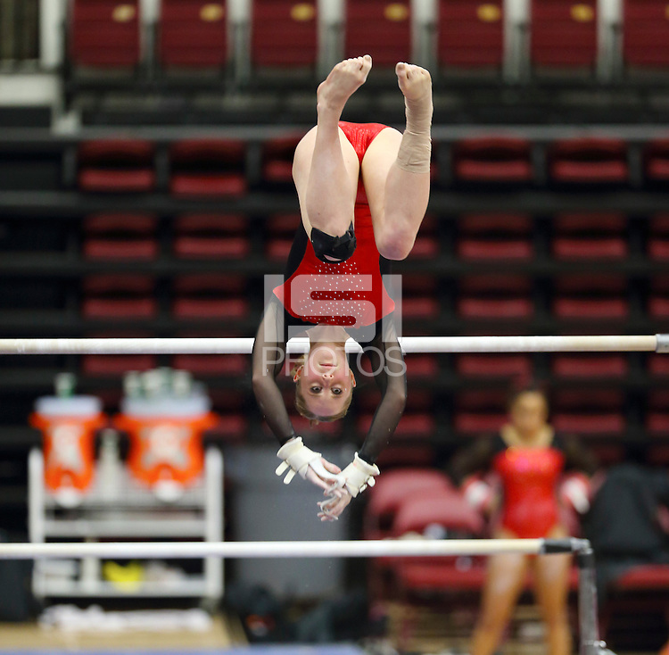 Stanford, CA; Friday February 15, 2013: Women's Gymnastics, Stanford vs Arizona State.