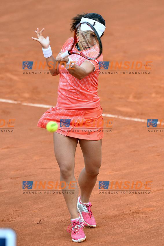 Misaki Doi (JPN)<br /> Roma 11-05-2016  Foro Italico<br /> Internazionali BNL d'Italia, <br /> Tennis WTA<br /> Foto Antonietta Baldassarre / Insidefoto