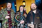 L-R Joe Flaherty, Lixnaw, Jimmy Doyle, Kielduff and Timmy Smith, Kilgarvan enjoying the No Hopers Bikers Rally in the Ballyroe Heights hotel, Tralee last Saturday night.