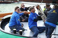 SKÛTSJESILEN: FRYSLÂN: SKS kampioenschap 2015, Skûtsje Leeuwarden schipper Siete Ezn. Meeter, ©foto Martin de Jong