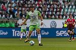09.09.2017, Volkswagen Arena, Wolfsburg, GER, 1.FBL, VfL Wolfsburg vs Hannover 96<br /> <br /> im Bild<br /> Mario Gomez (VFL Wolfsburg #33) am Ball, <br /> <br /> Foto &copy; nordphoto / Ewert