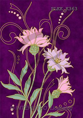 Kris, FLOWERS, paintings(PLKKK363,#F#) Blumen, flores, illustrations, pinturas ,everyday