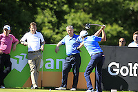 Peter Lawrie (IRL) during Wednesday's Pro-Am of the 2014 Irish Open held at Fota Island Resort, Cork, Ireland. 18th June 2014.<br /> Picture: Eoin Clarke www.golffile.ie