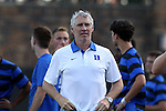 21 August 2015: Duke assistant coach Mike Miller. The Duke University Blue Devils hosted the University of North Carolina Charlotte 49ers at Koskinen Stadium in Durham, NC in a 2015 NCAA Division I Men's Soccer preseason exhibition. The game ended in a 1-1 tie.