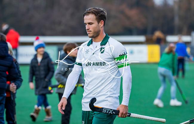 BLOEMENDAAL - Jeroen Hertzberger (Rdam)  na de   hoofdklasse competitiewedstrijd  heren , Bloemendaal-Rotterdam (1-1) .COPYRIGHT KOEN SUYK