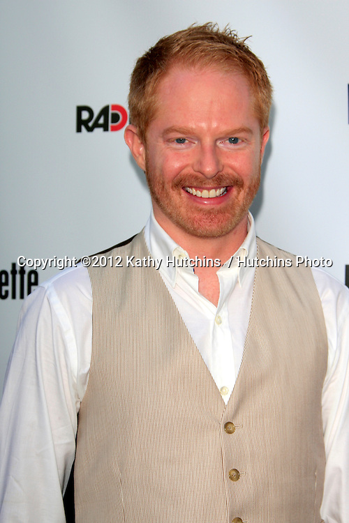 "LOS ANGELES - AUG 23:  Jesse Tyler Ferguson arrives at the ""Bachelorette"" Premiere at ArcLight Cinema Theaters on August 23, 2012 in Los Angeles, CA"