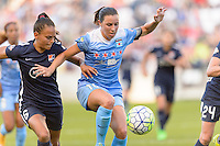 Bridgeview, IL - Sunday May 29, 2016: Chicago Red Stars midfielder Vanessa DiBernardo (10) and Sky Blue FC midfielder Taylor Lytle (6). The Chicago Red Stars and Sky Blue FC played to a 1-1 tie during a regular season National Women's Soccer League (NWSL) match at Toyota Park.