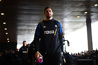 Luke Charteris and the rest of the Bath Rugby team arrive at the Stade Ernest Wallon. Heineken Champions Cup match, between Stade Toulousain and Bath Rugby on January 20, 2019 at the Stade Ernest Wallon in Toulouse, France. Photo by: Patrick Khachfe / Onside Images