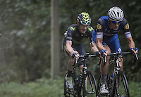 eventual GC winner Niki Terpstra (NED/Etixx-QuickStep) on the final climb up the Bosberg<br /> <br /> 12th Eneco Tour 2016 (UCI World Tour)<br /> Stage 7: Bornem › Geraardsbergen (198km)