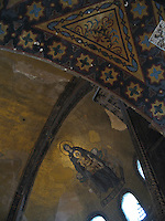 Virgin Mary & Baby Jesus mosaic, Aya Sofia - Istanbul, Turkey