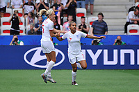 Celebration - Nikita Parris (England) - Steph Houghton (England)<br /> Nice 09-06-2019 <br /> Football Womens World Cup <br /> England - Scotland <br /> Inghilterra - Scozia <br /> Photo Norbert Scanella / Panoramic/Insidefoto <br /> ITALY ONLY